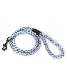 Kurgo Back Bay Leash Blue