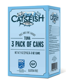 The Cats Fish Tuna 3x3 oz
