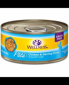 Wellness Cat Chk/Herring Pate 5.5 oz