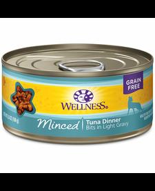 Wellness Cat Minced Tuna 6oz