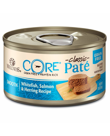 Wellness Core Cat Wfish/Salm/Herring 3 oz