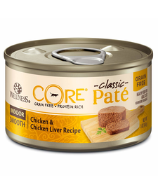 Wellness Core Indoor Chk & Chk Liver 3 oz
