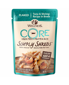 Wellness Core Simply Shreds Tna/Shmp 1.75 oz