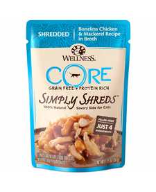 Wellness Core Simply Shreds Chk/Mack 1.75 oz