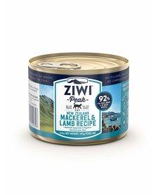 ZiwiPeak Cat Lamb & Mackerel 6.5 oz Case