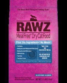 Rawz Cat Salmon, Ckn, Whtfsh 3.5lb