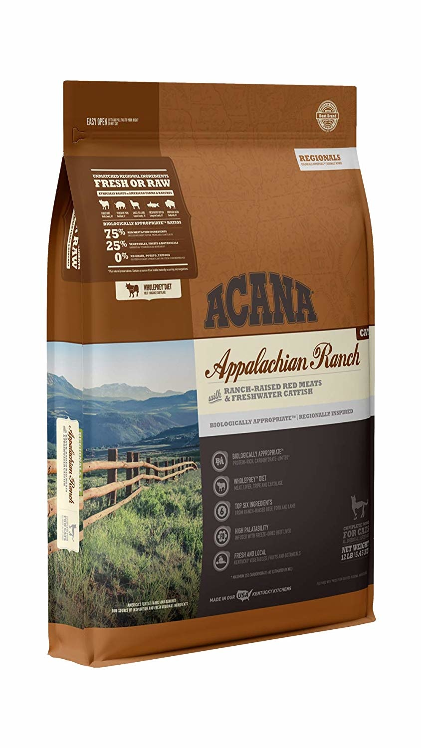 Acana (Champion) Acana Cat Appalachian Ranch 12 lb