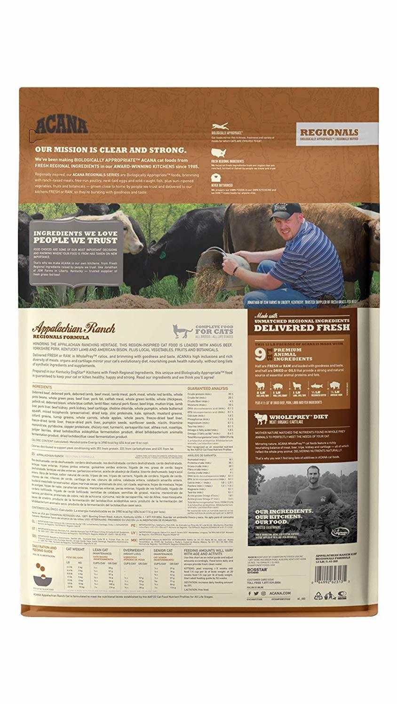 Acana (Champion) Acana Cat Appalachian Ranch 10 lb
