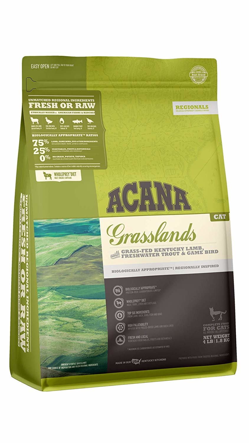 Acana (Champion) Acana Cat Grasslands 4 lb