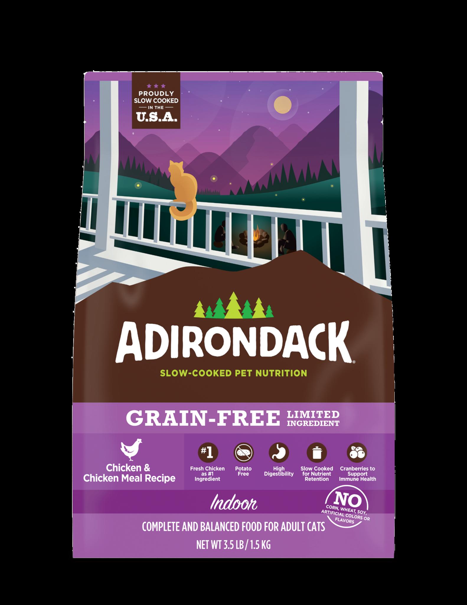Adirondack Adirondack GF Chicken Indoor Cat 3.5 lb