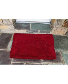 "Soggy Doggy Doormat Cranberry 26""x36"""