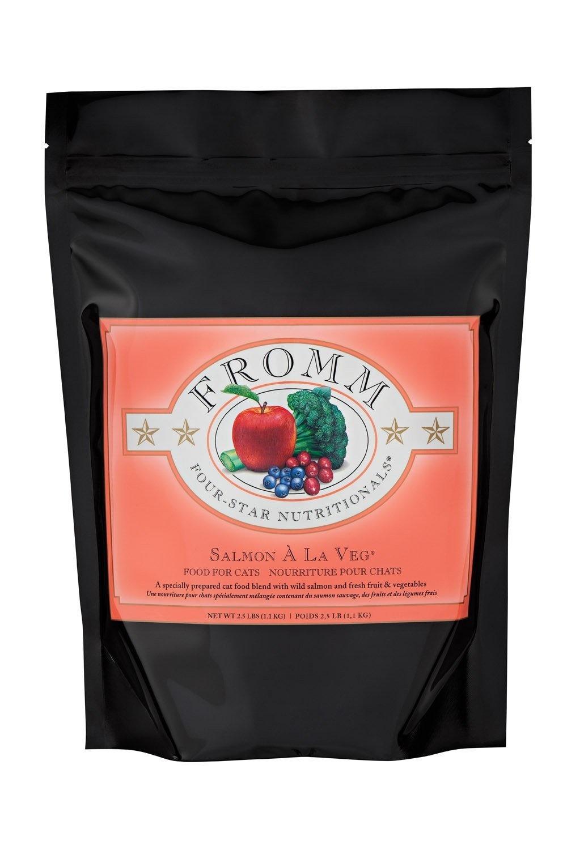 Fromm Family Foods LLC Fromm 4Star Cat Salmon A La Veg 2lb
