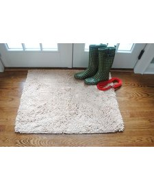 "Soggy Doggy Doormat Beige 26""x36"""