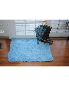"Soggy Doggy Doormat Lt Blue 26""x36"""