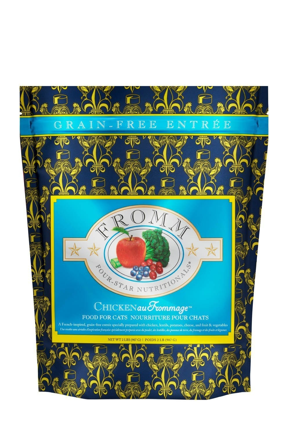 Fromm Family Foods LLC Fromm Cat Chk au Frommage 2 lb