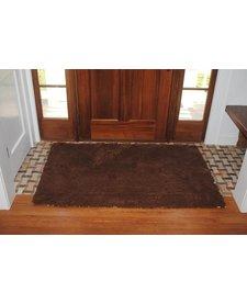 """Soggy Doggy Doormat Choc 26""""x36"""""""