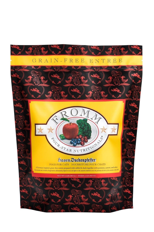Fromm Family Foods LLC Fromm 4Star Cat Hasen Duckenpfeffer 5lb