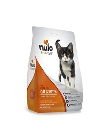 Nulo Freestyle  Cat & Kitten Turkey/Duck 5lb