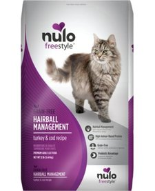 Nulo Freestyle Cat Hairball Management 12 lb