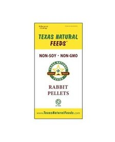 Texas Natural Feeds 16% Rabbit Pellets 50#