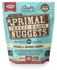 Primal Freeze-Dried Chicken & Salmon 5.5oz