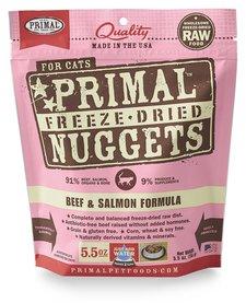 Primal Freeze-Dried Beef & Salmon Cat 5.5 oz