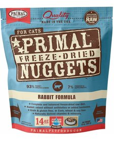 Primal Cat Freeze-Dried Rabbit 14 oz