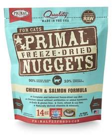 Primal Freeze-Dried Chicken Salmon Cat 14oz