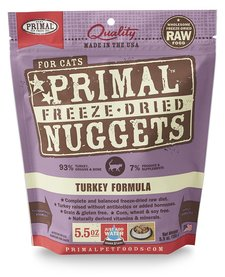 Primal FD Turkey Cat 5.5oz