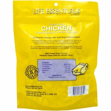 Cat-Man-Do Cat-Man-Doo FD Life Essentials Chicken 2oz
