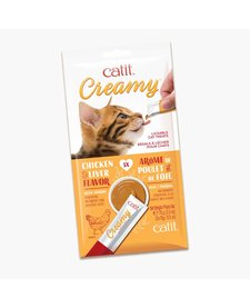Catit Creamy Chicken & Liver 5 ct