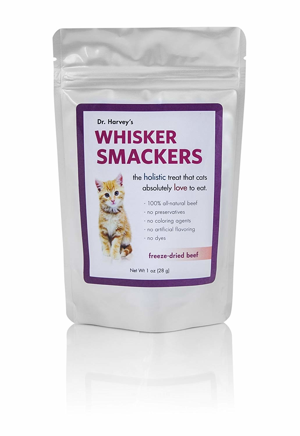 Dr Harvey's Dr. Harvey's Whisker Smackers Beef 1 oz