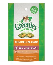 Feline Greenies Skin & Fur Chicken 2.1 oz