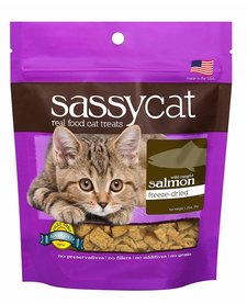 Sassy Cat Salmon .88 oz