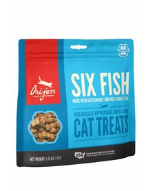 Orijen Cat Six Fish FD Treats 1.25 oz