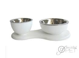 Dog Fashion SupperTime Double Bowl