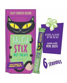 Tiki Cat Treat Stix Duck 6 ct