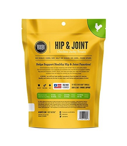 Bixbi Bixbi Hip & Joint Chicken Jerky 5oz