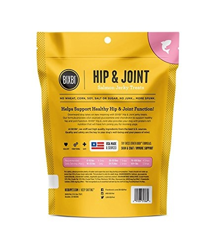 Bixbi Bixbi Hip & Joint Salmon Jerky 4oz