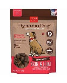 Dynamo Dog Skin/Coat Salmon 5 oz