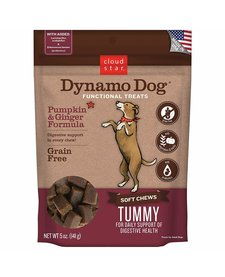 Dynamo Dog Tummy Pmp/Ginger 5oz