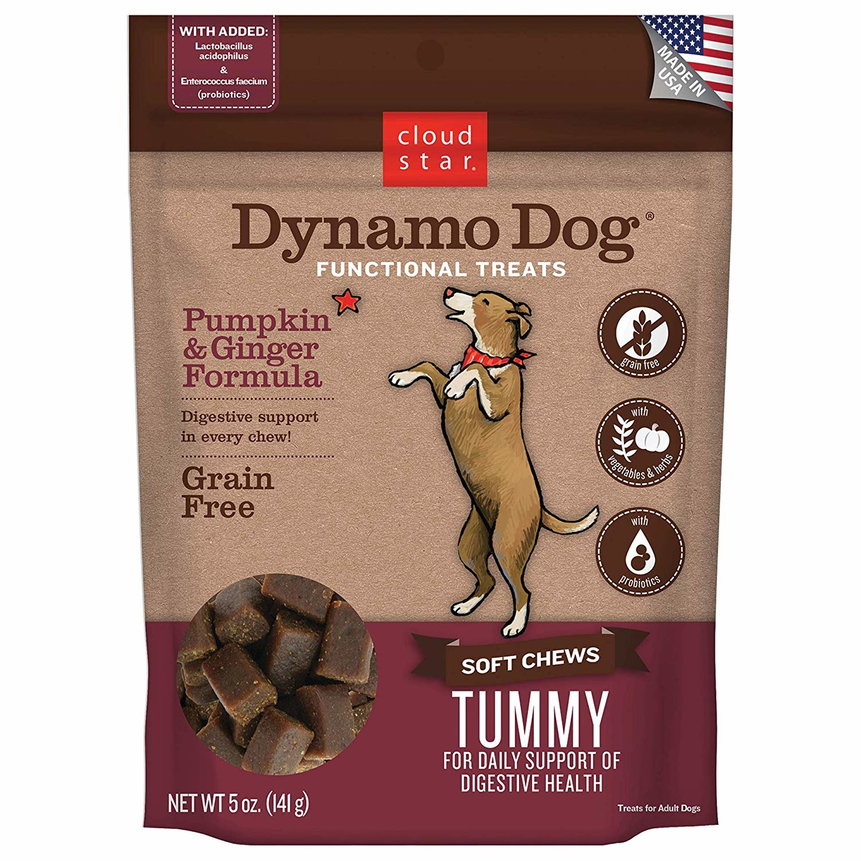 Cloud Star Dynamo Dog Tummy Pmp/Ginger 5oz
