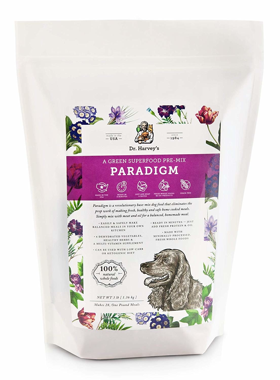 Dr Harvey's Dr Harvey's Paradigm Premix 3 lb