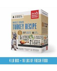 Honest Kitchen Whole Grain Turkey 4 lb