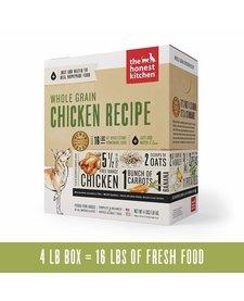 Honest Kitchen Whole Grain Chicken 4 lb