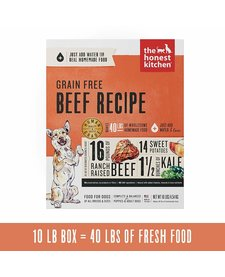 Honest Kitchen Grain Free Beef 10 lb