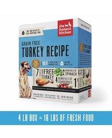 Honest Kitchen Grain Free Turkey 4 lb