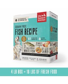 Honest Kitchen Grain Free Fish 4 lb
