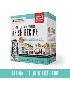 Honest Kitchen Grain Free LID Fish 4lb
