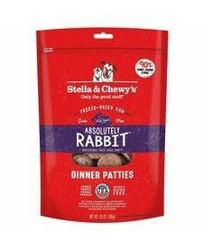 Stella & Chewy FD Rabbit Patties 25 oz